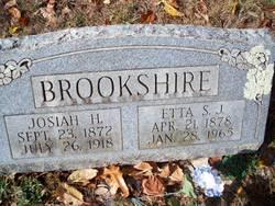 Etta Samantha J. <i>Hood</i> Brookshire