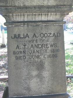 Julia A <i>Cozad</i> Andrews