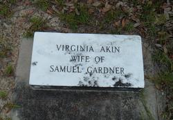 Virginia Susan <i>Akin</i> Gardner