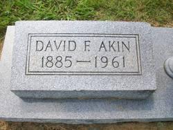 David F Akin