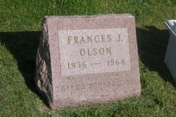 Frances J. <i>Schoonmaker</i> Olson