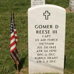 Capt Gomer David Reese, III