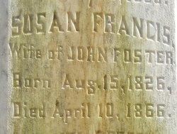 Susan Francis <i>Grant</i> Foster