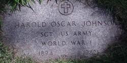 Harold Oscar Johnson