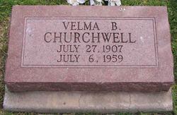 Velma Elsie <i>Brisbin</i> Churchwell