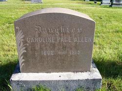 Caroline Page Allen