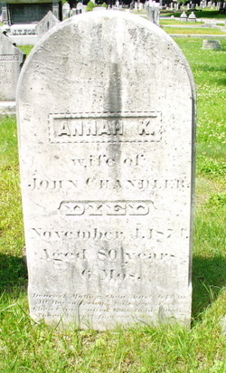 Mrs Annah <i>Kittredge</i> Chandler
