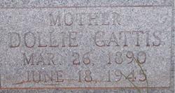 Dollie Maybelle <i>Carlisle</i> Gattis