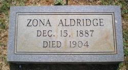 Zona Aldridge