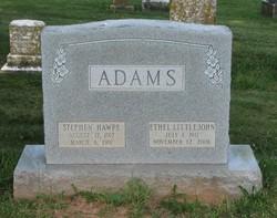 Ethel Thompson <i>Littlejohn</i> Adams