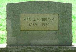 Mrs Martha Lucinda <i>Tuggle</i> Belton