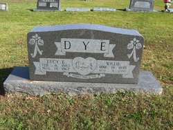 Lucy E <i>Anderson</i> Dye