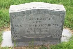 Annette <i>Shores</i> Beard