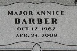 Maj Annice Barber