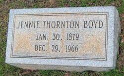 Jennie May <i>Thornton</i> Boyd