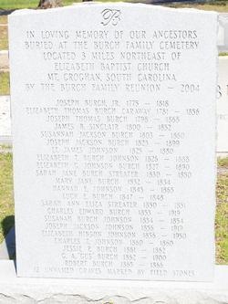 Burch Family Cemetery