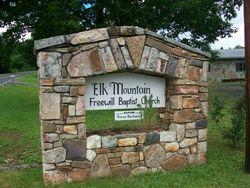 Elk Mountain Freewill Baptist Church Cemetery