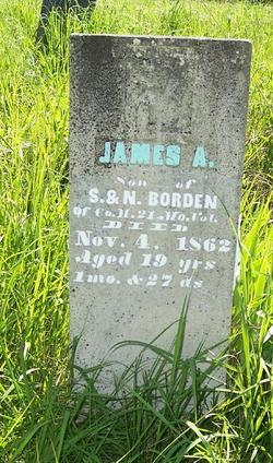 Pvt James A. Borden