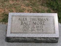 Alex Thurman Baltimore