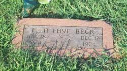 Ella Faye Beck