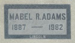 Mabel Retta <i>Lincoln</i> Adams