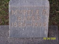 Myrtle Electa Bates