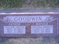 William Decon Goodwin