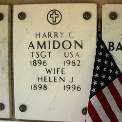 Sergeant Harry C Amidon