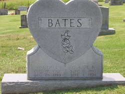 Oneida L. <i>Crowe</i> Bates