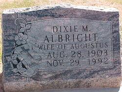 Dixie M. <i>Thompson-Rogers</i> Albright