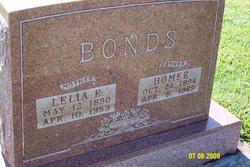 Lelia E <i>Edmonds</i> Bonds