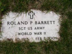 Roland P Barrett