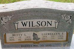 Llewellyn E. Wilson