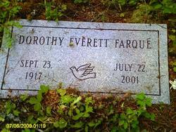 Dorothy Everett Farque
