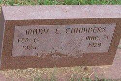 Mary E. Chambers