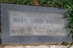 Marie Goode Barnes