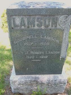 Lucy J, <i>Rogers</i> Lamson