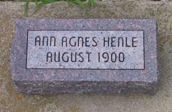 Ann Agnes Henle