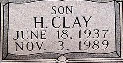 Clay H. Evans