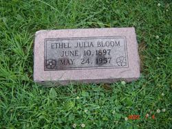 Ethel Julia <i>Peterson</i> Bloom