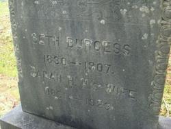 Sarah H. <i>Sampson</i> Burgess