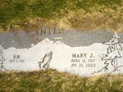 Mary Jane <i>Clark</i> Antle