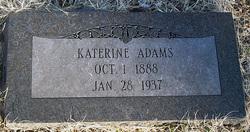Katerine Adams