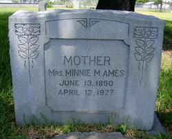 Minnie M <i>West</i> Ames