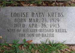 Louise <i>Raby</i> Krebs