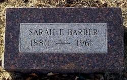 Sarah Fanny <i>Betts</i> Barber
