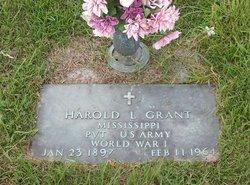 Harold Lafayette Grant
