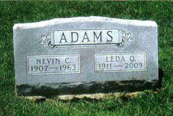 Leda O. <i>Ward</i> Adams