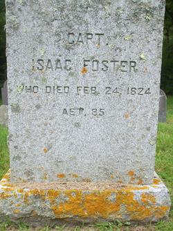 Capt Isaac Foster, Sr