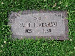 Ralph H Adamski